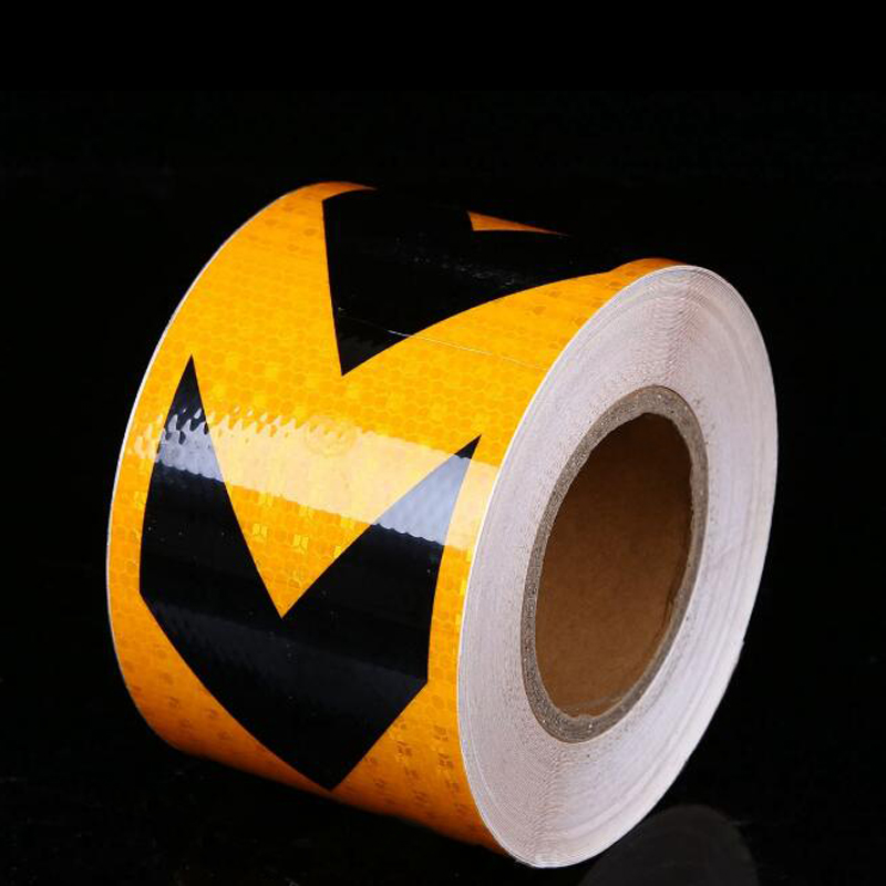 Roadway Safety Reflective Material Smart 5cm*3m Safety Mark Reflective Tape Stickers Car-styling Self Adhesive Warning Tape Automobiles Motorcycle Reflective Film We Have Won Praise From Customers