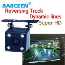 Factory supply good quality 170 Degree Dynamic trajectory Rear view Camera Best day and night vision Free shipping