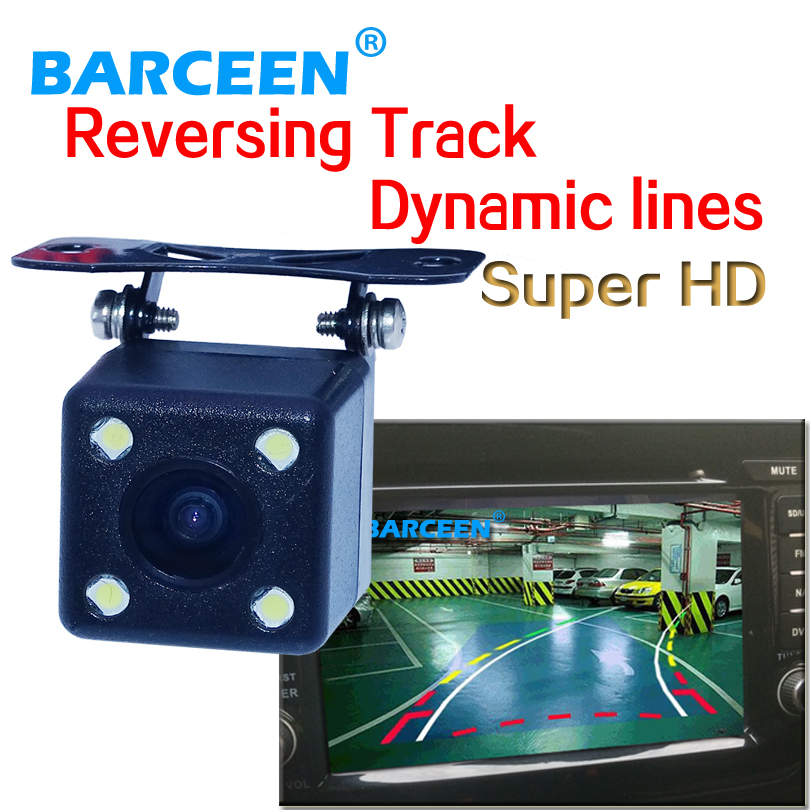Oferta de fábrica buena calidad 170 grados trayectoria dinámica cámara de visión trasera mejor día y visión nocturna envío gratis