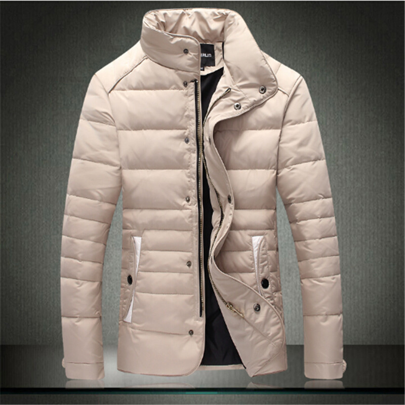 winter jacket men 2016 new parka coat stand collar men jackets jaqueta masculina High quality warm overcoat