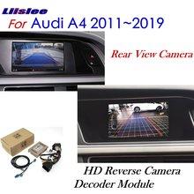 Liislee Reverse Camera For Audi A4 B8 2011~2018 Interface Adpter Parking Rear Backup Connect Original Screen MMI Decoder