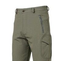 SZ LGFM Outdoor Lurker Shark Skin Soft Shell Camouflage Waterproof Mens Pants Army Green S