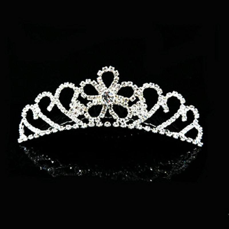 HTB17bn2MVXXXXXHaXXXq6xXFXXXv Majestic Prom Pageant Wedding Bride Bridesmaid Jewelry Comb Tiara - 13 Styles