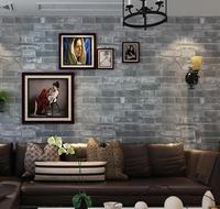 Wallpaper Brick Wall Background Wall Paper Grey For Living Room 3d Stone Wallpaper Modern Wallcovering Pvc