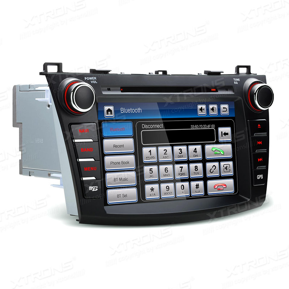 GPS Navigation Audio Stereo Mazda 3 Dvd-Player Autoradio Video Bluetooth Canbus 2