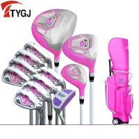 Brand TTYGJ. Ladies women golf clubs complete golf set with bag golf irons set