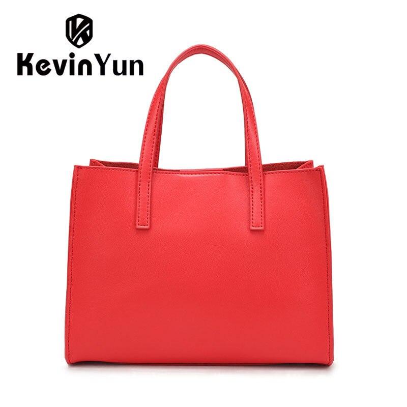 KEVIN YUN Luxury Genuine Leather Bag Women Handbag Shoulder Bags Ladies Tote Brand Womens Messenger Bag