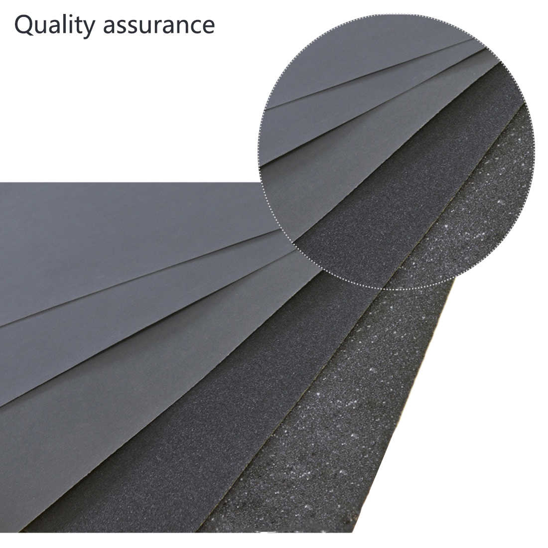 80-2000 Grits Sandpaper Car Polished Silicon Carbide Polishing Accessories