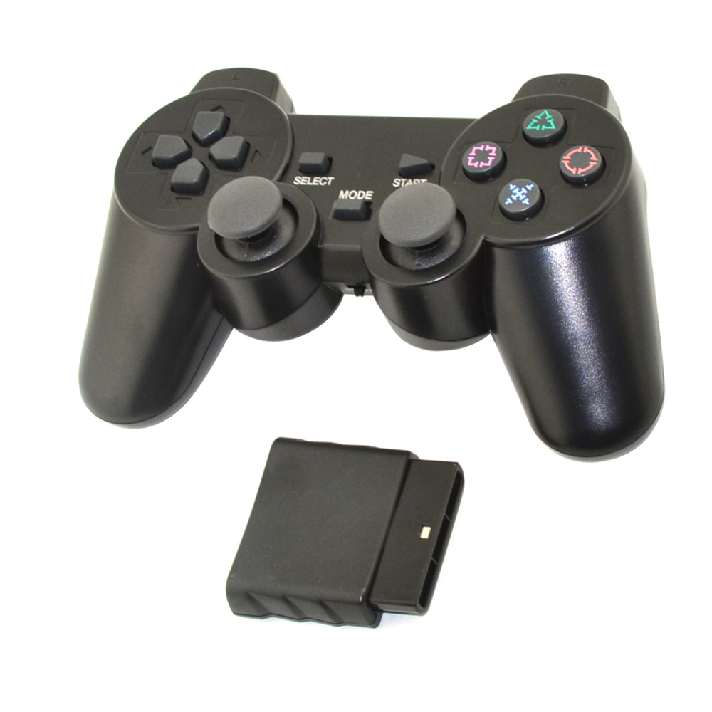 For play station 2.4G Wireless game gamepad joystick for PS2 controller for Sony playstation 2 console gaming joypad