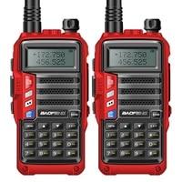 2PCS BAOFENG 2018 UV S9 8W Powerful VHF/UHF136 174Mhz & 400 520Mhz Dual Band 10KM Range Thicken battery Walkie Talkie Ham Radio