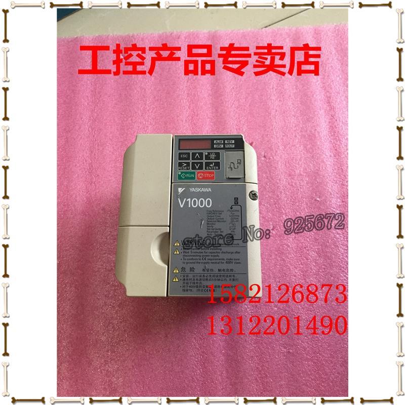 Yaskawa inverter V1000 series CIMR - VB4A0002BBA 0.75 KW / 0.4 KW 380 v real figure dhl ems 1pcs original for yaskawa a1000 inverter cimr ab4a0031faa