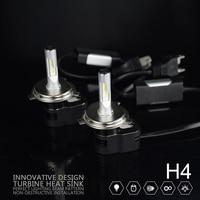 2pcs Set 60w T5 8400LM Souel GSP H4 Hi Lo Beam Car LED Headlight Auto LED