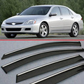 For Honda Accord MK7 2004-2007 Window Wind Deflector Visor Rain/Sun Guard Vent