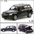 Envío Gratis Gran Escala estrella Al Por Mayor de Simulación de Aleación de Coche coche de juguete modelos de automóviles de aleación 1:24 Mercedes Benz GLK-CLASS 34000