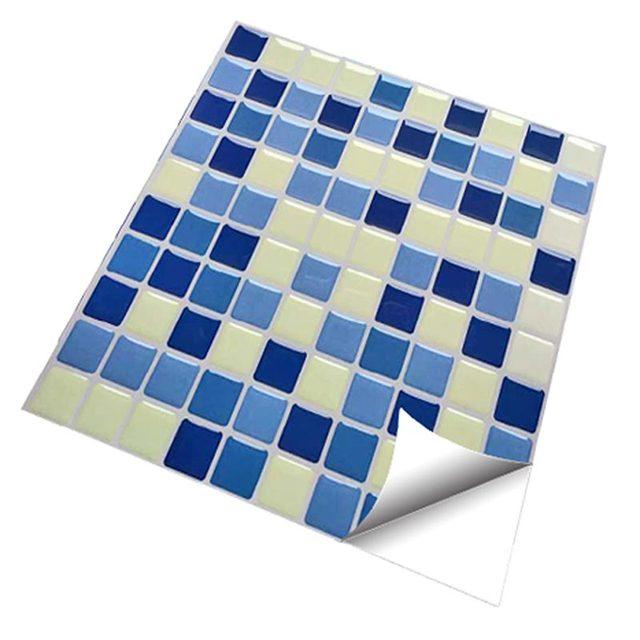 2 0 nuovo aggiornamento fai da te cucina muro di for Piastrelle adesive da parete
