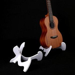 Image 3 - Support guitare étagère ukulélé ukulélé support Vertical pliant