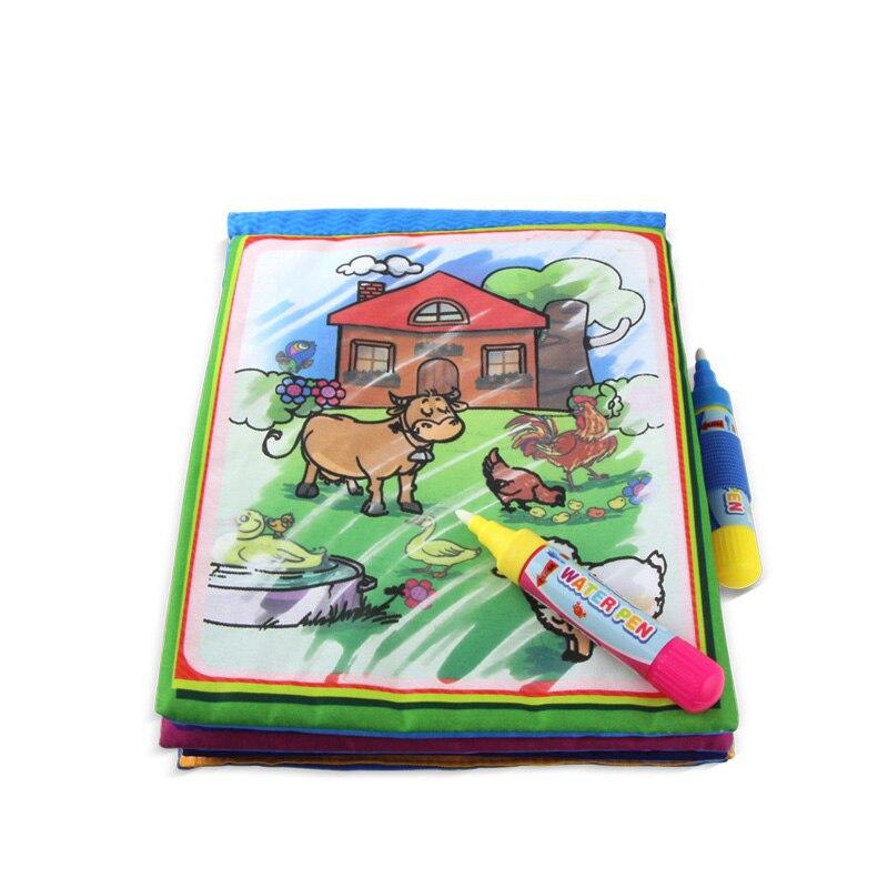 Puzzel Speelgoed Water Tekening Boek Kleurboek Doodle & Magic Pen Schilderen Tekentafel Voor Kinderen Speelgoed Verjaardagscadeau - 3