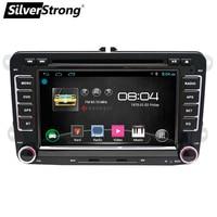 SilverStrong Android6.0 7 дюймов для Passat B6 B7 dvd плеер автомобиля для VW Golf радио gps для поло стерео радио 65DS