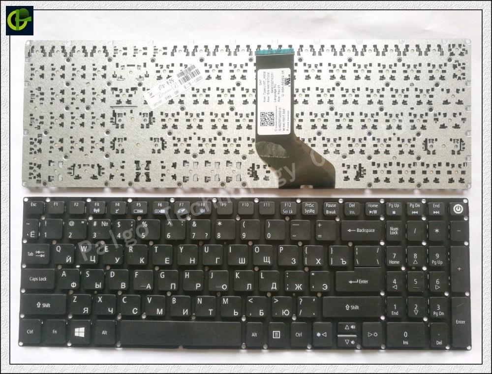 Russian RU Keyboard for Acer ES1-523 ES1-523G ES1-533 ES1-533G ES15 ES1-572 F5-521 F5-522 BLACK SAME AS PHOTO es1 572 37pm