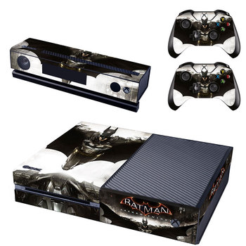Batman Vinyl Cover Skin Stickers For Microsoft Xbox One Console Game Sticker & Kinect & 2 Controller Skins