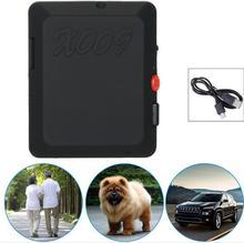 20 unids/X009 Mini GPS Tracker Con SOS y la Función GPS Mini Tarjeta Sim Cámara de Vídeo Grabador de GSM 850/900/1800/1900 MHZ