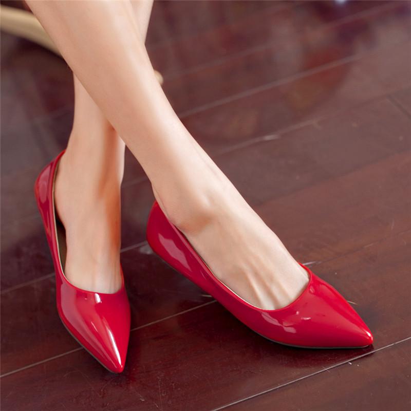 Aliexpress.com   Buy Big Size Women s Shoe Fashion Flats Shoes SB ... c296887aedde