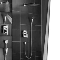 Shower Faucet Bathroom set Bathtub Faucets Wall Mounted Shower Mixer Tap Bath Shower Taps Waterfall Shower Head Wall Mixer Tap