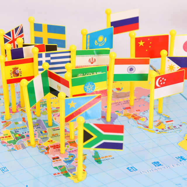 Children puzzle wooden puzzle flag world map three dimensional children puzzle wooden puzzle flag world map three dimensional flag children gumiabroncs Images