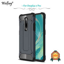 Oneplus 7 Pro Case Luxury Shockproof Armor Rubber Silicone Hard Phone Back Cover 1+7 Fundas