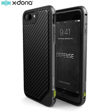 X דוריה הגנה Lux טלפון מקרה עבור iPhone 7 בתוספת 7 Coque צבאי כיתה זרוק נבדק TPU אלומיניום מגן כיסוי עבור iPhone 7