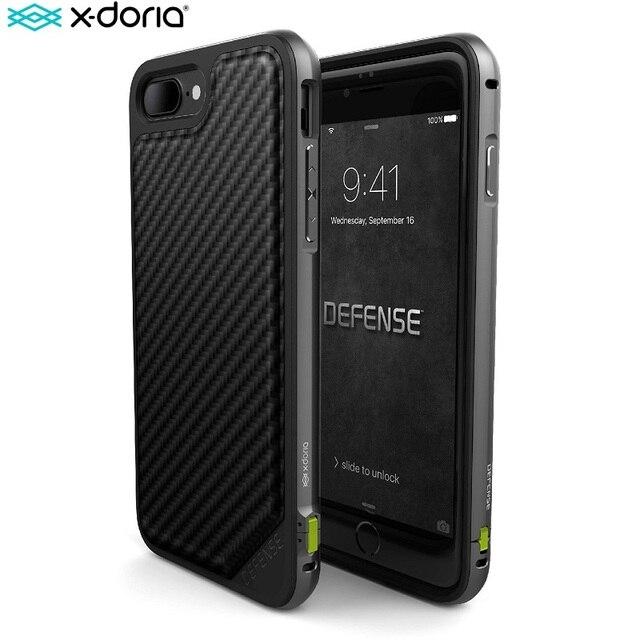 X ドリア防衛ルクス電話ケース iphone 7 プラス 7 Coque 軍事グレードテスト TPU アルミ保護 iphone 7