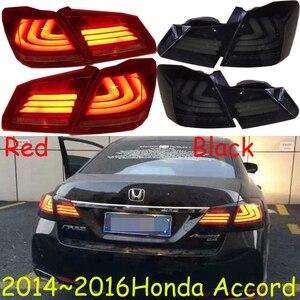 Image 1 - 1 conjunto de 2014 2015 2016 ano luz da cauda para honda accord acessórios do carro lanterna traseira led drl para accord luz nevoeiro