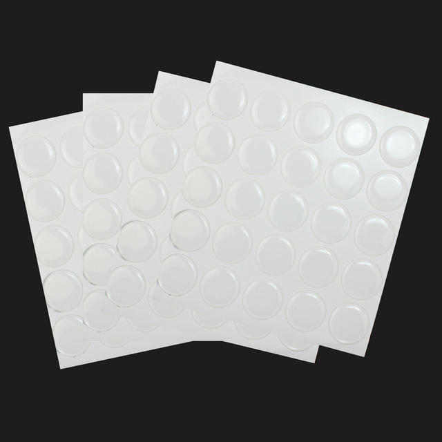 100 pcs 1 clear 2mm thick 3d epoxy stickers circles dome bottle cap seals adhesive