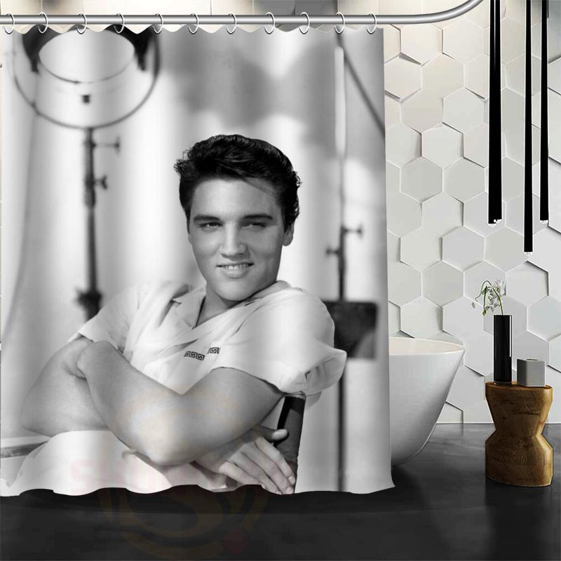 Benutzerdefinierte Elvis Presley Duschvorhang neue große - Haushaltswaren - Foto 6