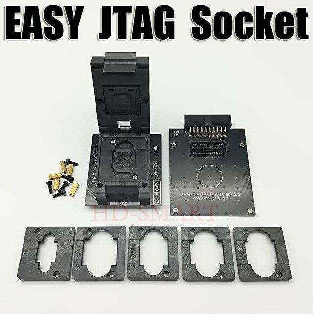 기존 EASY JTAG PLUS BOX EMMC 소켓 BGA153/169, BGA162/186, BGA221, BGA529 무료 배송