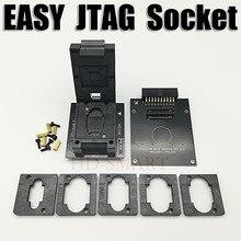 الأصلي سهلة JTAG زائد صندوق EMMC المقبس BGA153/169 ، BGA162/186 ، BGA221 ، BGA529 شحن مجاني