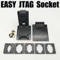 Original EASY JTAG PLUS BOX EMMC Socket BGA153 169 BGA162 186 BGA221 BGA529 Free Shipping