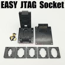 Original EINFACH JTAG PLUS BOX EMMC Buchse BGA153/169, BGA162/186, BGA221, BGA529 Freies verschiffen