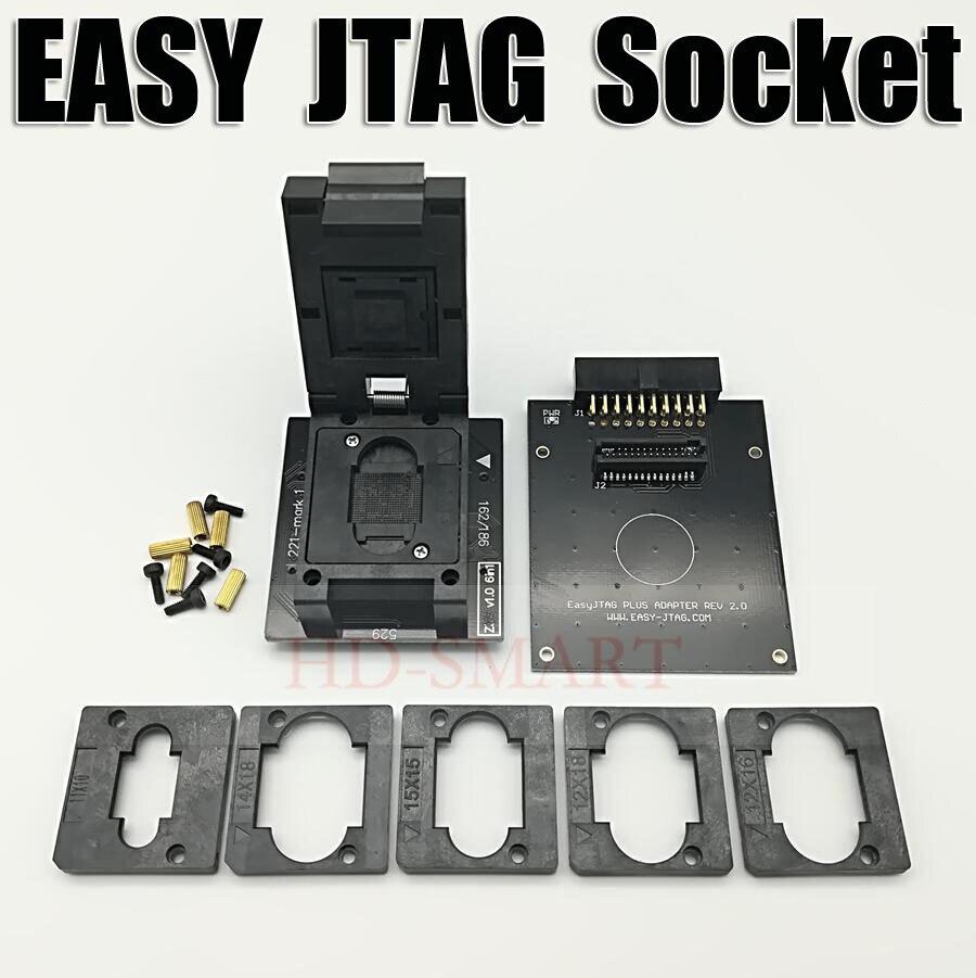 Оригинальный Z3X легкий JTAG PLUS BOX EMMC Socket BGA153/169, BGA162/186, BGA221, BGA529, бесплатная доставка
