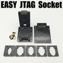 Original fácil jtag mais caixa emmc soquete bga153/169, bga162/186, bga221, bga529 frete grátis