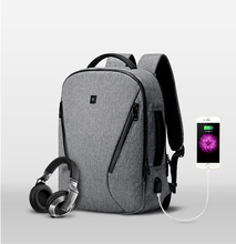 Многофункциональный USB зарядки Для мужчин 15 дюймов ноутбук Водонепроницаемый Рюкзаки для подростка мужской Mochila отдыха и путешествий назад к Школьные сумки