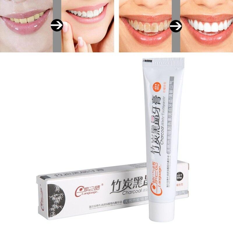 Sporting Zahn Pflege Bambus Natürliche Aktivkohle Zähne Bleaching Zahnpasta Mundhygiene Dental Fda Ce Zertifizierung Dropshipping