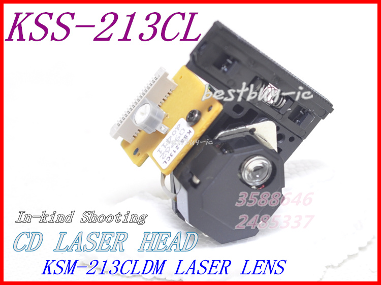 Tüketici Elektroniği'ten DVD ve VCD Oynatıcı'de VCD optik pick up KSS 213 LENS KSS 213CL/213CL lazer kafası  yüksek kaliteli 213CL