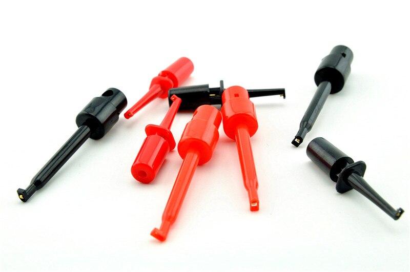 Multimeter Lead Wire Test Hook Clip Grabber Test Probe SMT//SMD IC D20 Welding