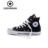 Converse Skateboarding Shoes Original Classic Unisex Canvas High Top Anti Slippery Sneaksers Comfortable Falt Light Shoes 102307