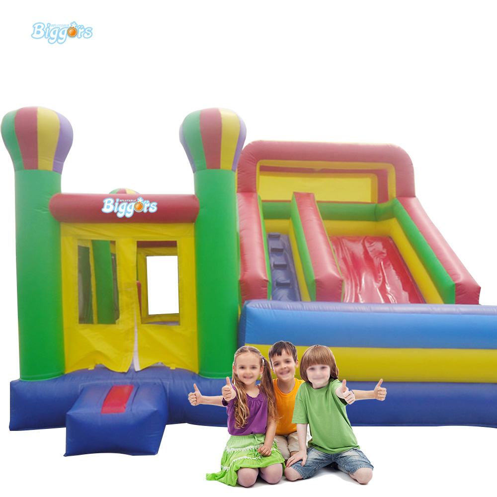 Outdoor Inflatable Bounce House Slide Combo Balloon Bouncy Castle Bouncing House With Air Blowers And Repair Kit tropical inflatable bounce house pvc tarpaulin material bouncy castle with slide and ball pool inflatbale bouncy castle