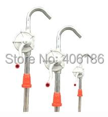 Stainless Steel Manual Oil Pump, Hand rotary oil pump steel casing pipe