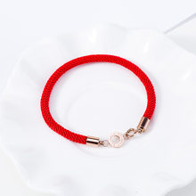 Red Thread Amulet Bracelets For Women Lucky Women's Fashion Bracelet Elegant Romantic Lovers Jewelry BR543(China)