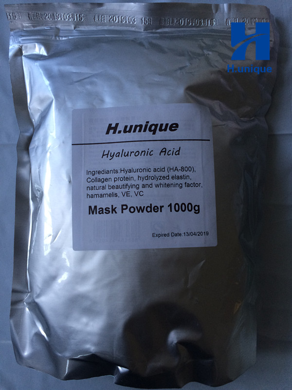 SPA Quality Hyaluronic Acid Soft Powder Face Mask Anti Aging Peel Off Facial Treatment Beauty Salon Equipment 1000g 1kg free shipping 1kg 1000g moisturizing anti aging hyaluronic acid soft mask powder for face neck hand beauty salon spa products