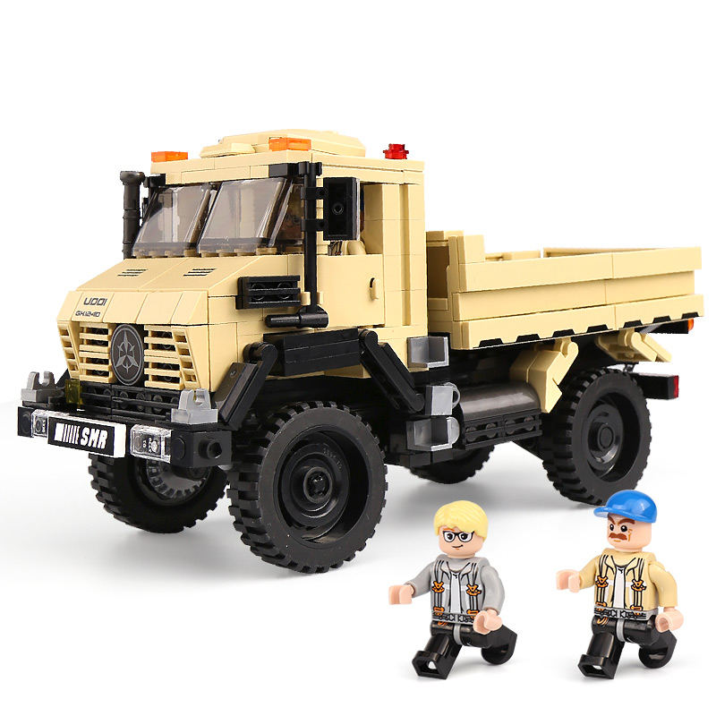 купить New XingBao 03026 Car Series The Super Truck Model Set Building Blocks Bricks Toys For Kids Educational Funny Kids Gifts Model по цене 1489.15 рублей